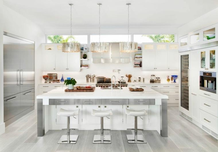 cocina-blanca-diseno-contemporaneo-ideas-estilo-muebles