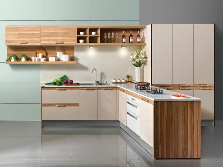 cocina integral-moderna-madera