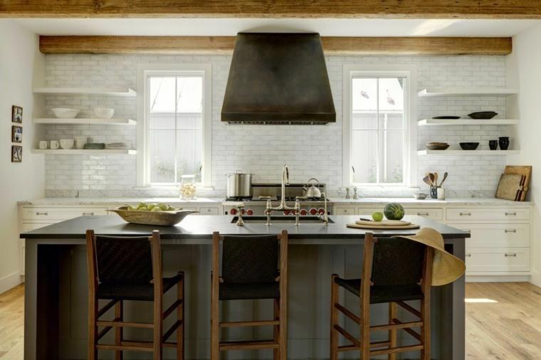 cocina-isla-grande-diseno-original-estilo-moderno