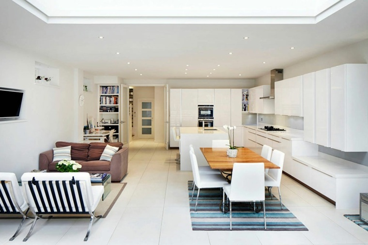 cocinas abiertas-en-blanco