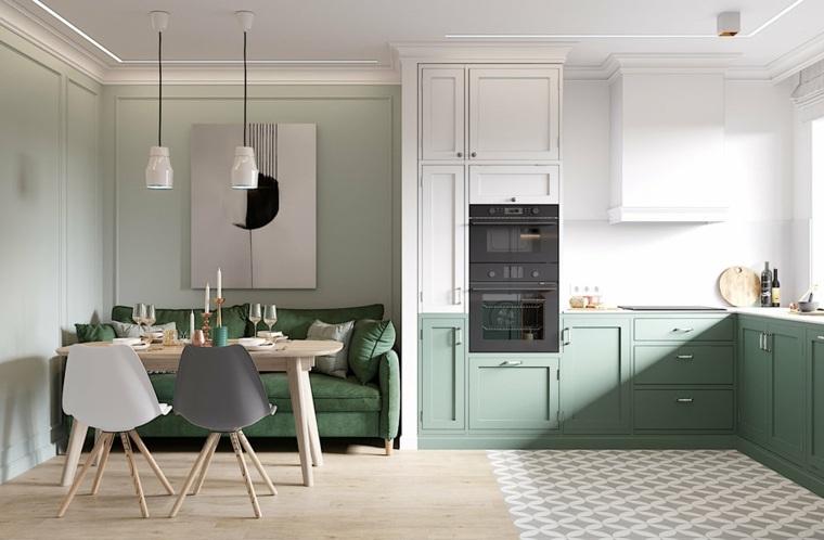 cocinas abiertas-espacios-pequeños