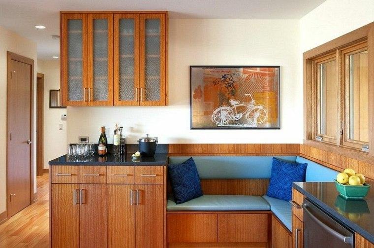 cocinas de madera originales