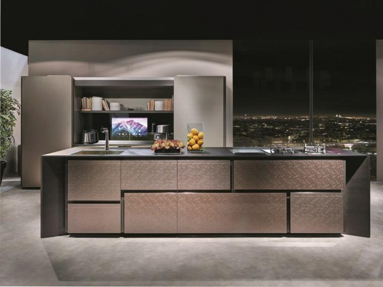 Cocinas integrales de madera unos interiores impresionantes for Cocinas integrales modernas de madera