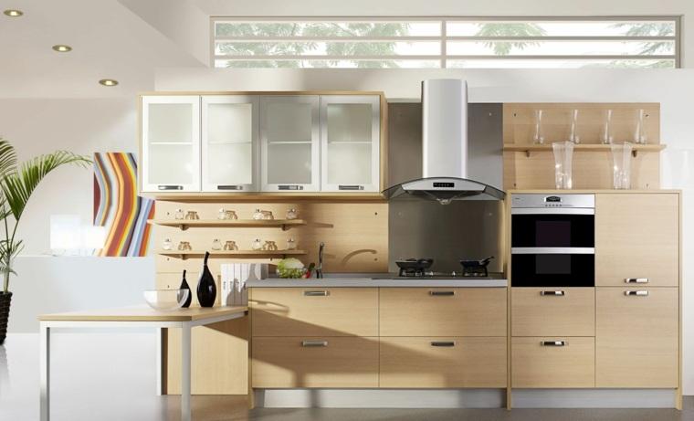 cocinas integrales de madera-decorar