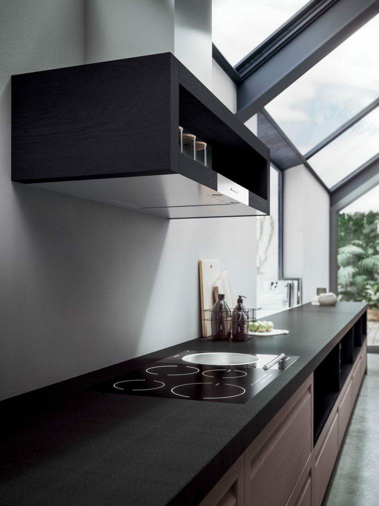 Cocinas integrales de madera unos interiores impresionantes for Interiores de cocinas