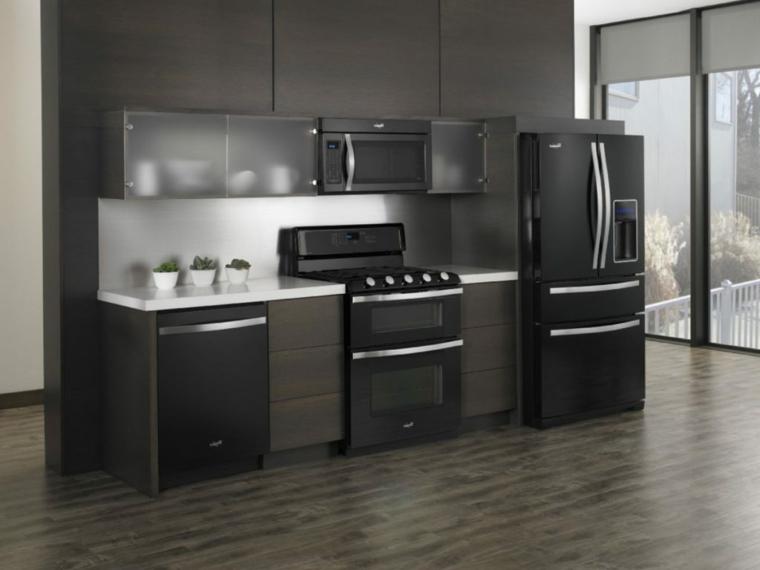 Cocinas integrales de madera unos interiores impresionantes - Precios cocinas integrales ...