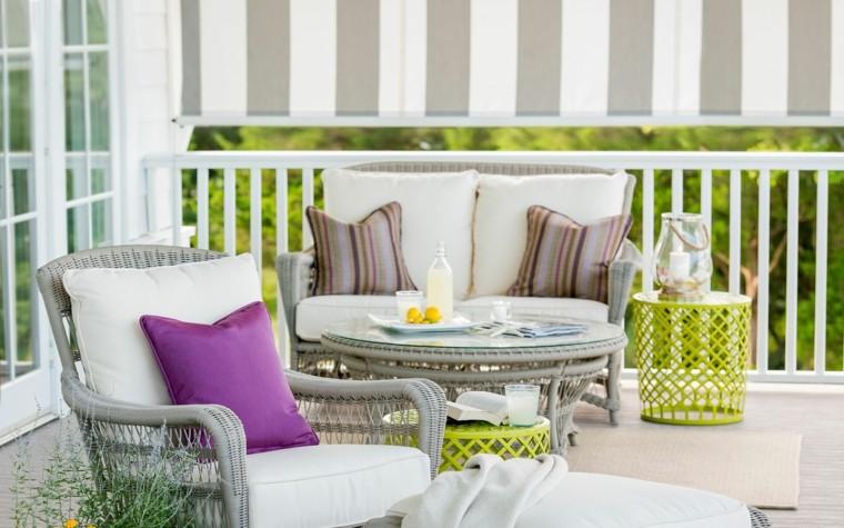 cojines de colores para decorar-exteriores