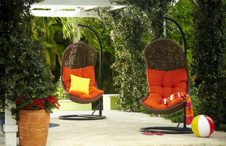 cojines para decorar-sillones-exterior