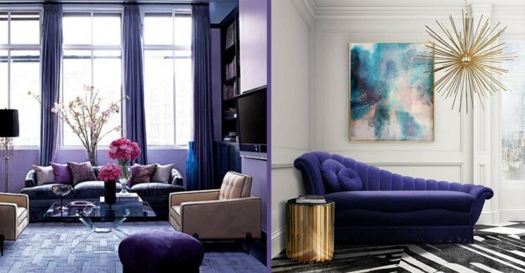 color violeta-decorar-hogar