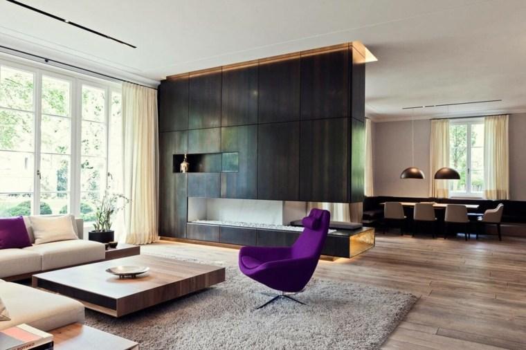 color violeta-ultravioleta-decoracion-moderna