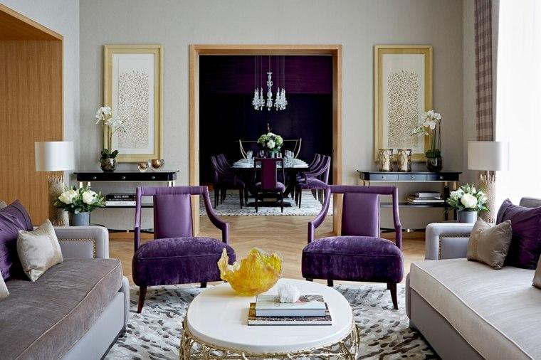 Color Violeta Y Ultravioleta De Pantone En El Dise 241 O