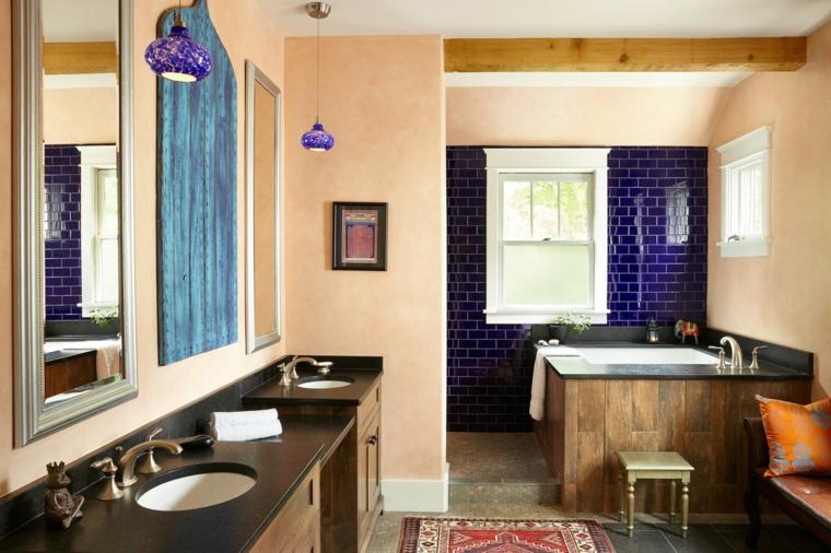color violeta-ultravioleta-decorar-cocinas