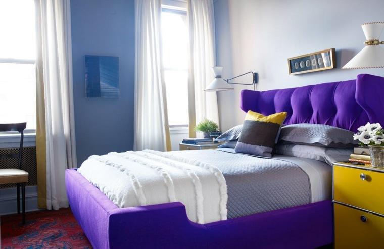 color violeta-ultravioleta-decorar-dormitorios