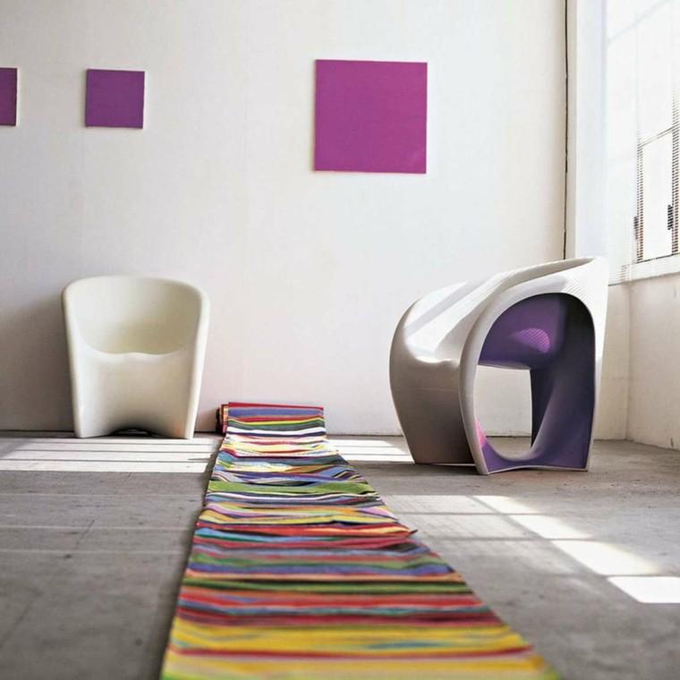 color violeta-ultravioleta-decorar-sala-de-estar
