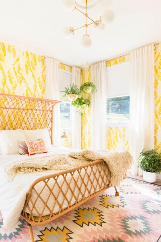 colores de habitaciones-amarillas-originales