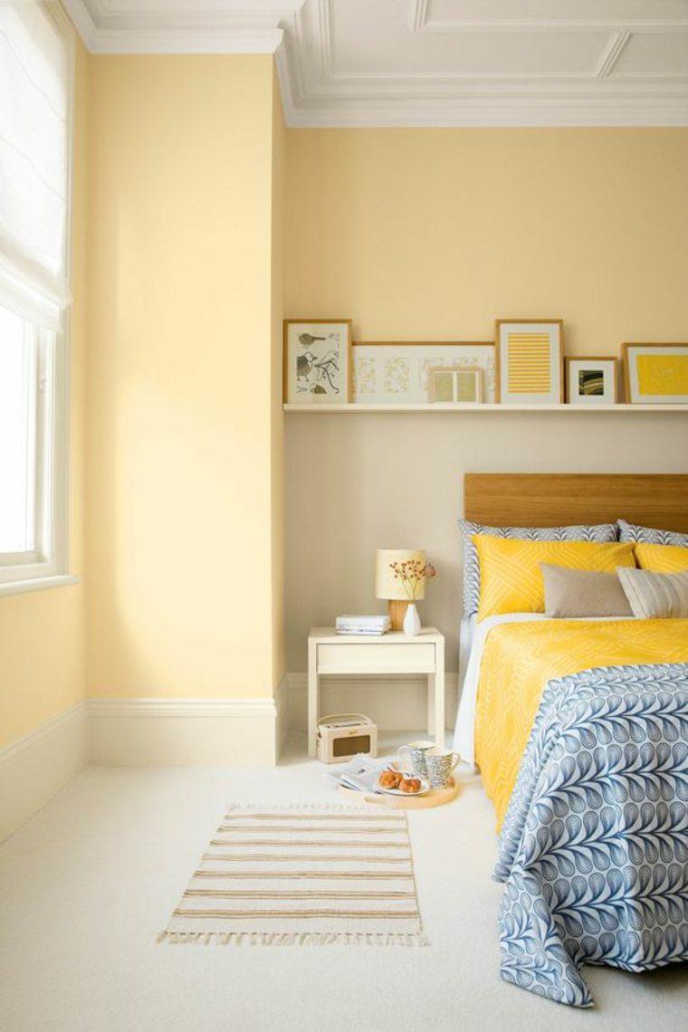 colores de habitaciones-amarillas-pequenas