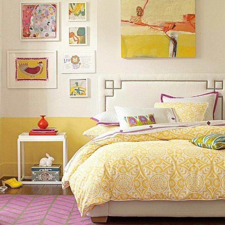 colores para dormitorios-amarillo