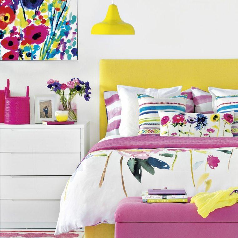 colores para dormitorios-modernos-amarillo