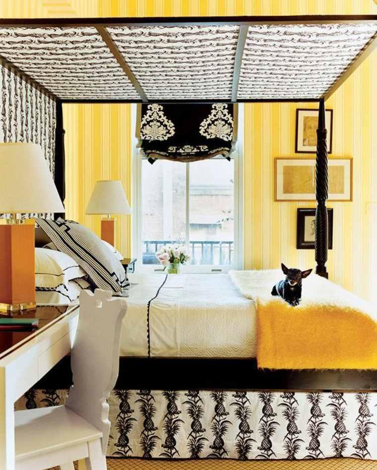 colores para habitaciones juveniles-amarillo