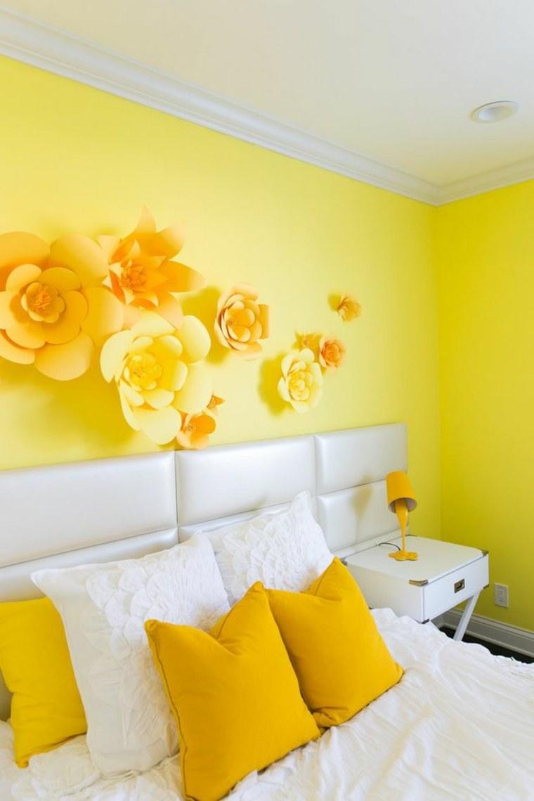 Colores de habitaciones el amarillo en nuestro interior - Colores de paredes para habitaciones ...