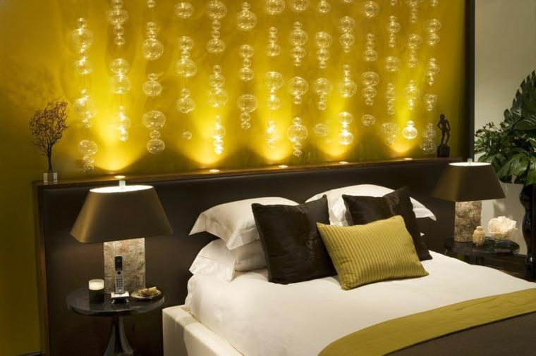 colores para habitaciones pequenas-modernas-amarillo