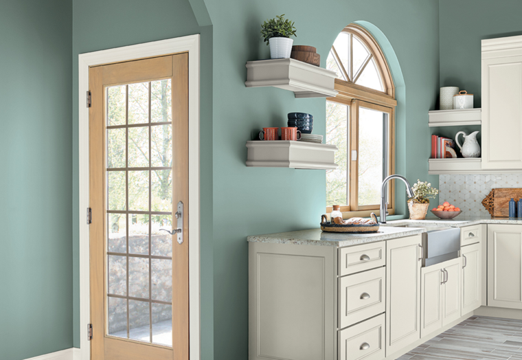 combinación de colores para interiores modernos