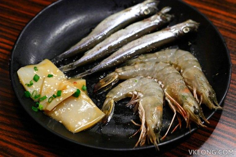 comida japonesa mariscos
