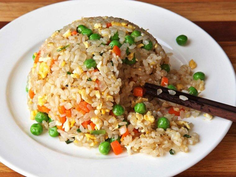 comida sana para el higado graso-arroz