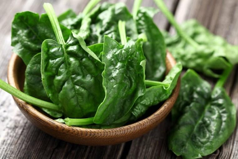 comidas faciles y sanas-cuidar-higado-espinaca