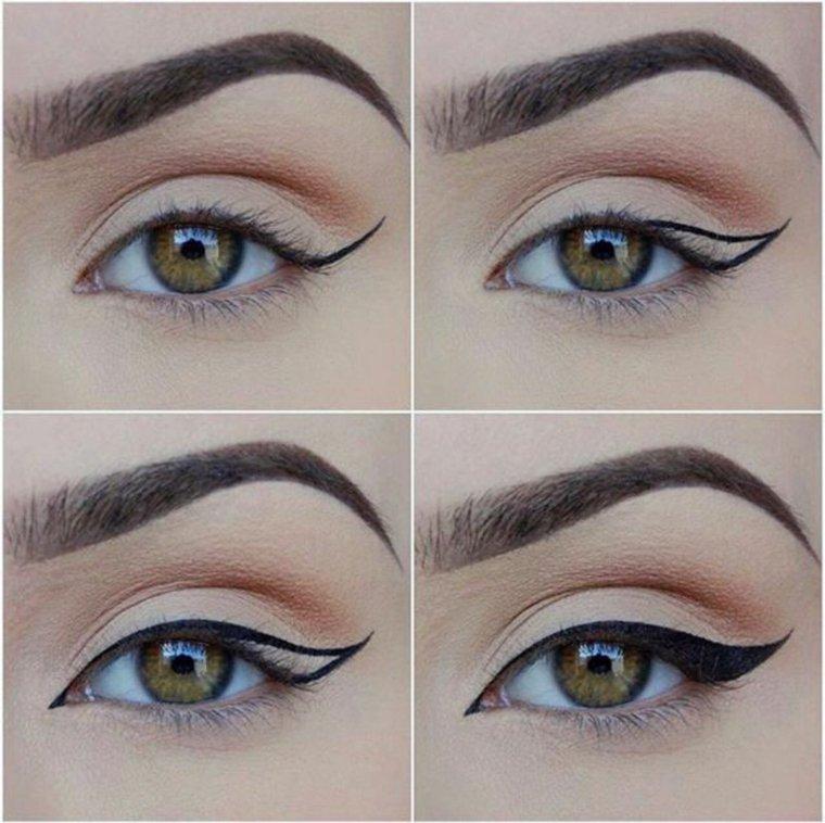 como aplicar eyeliner-contorneado-casa