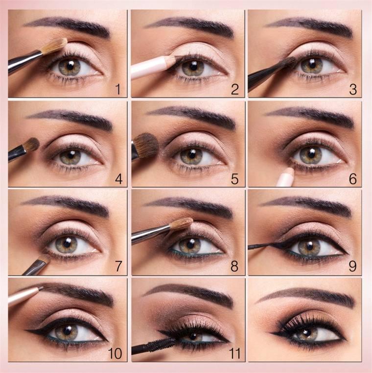 como aplicar eyeliner-negro-casa