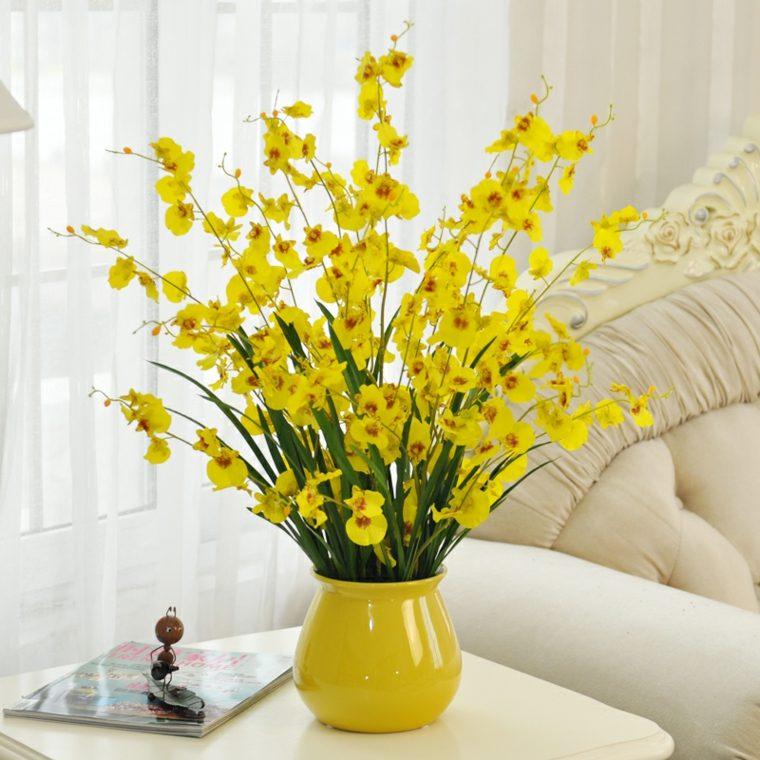 como decorar una habitacion-flores