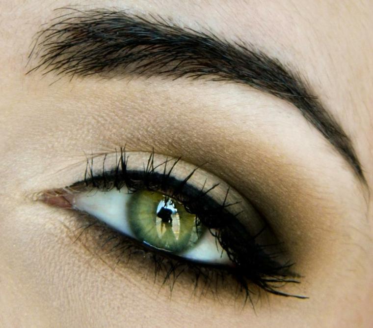 como pintarse los ojos-ahumados-casa
