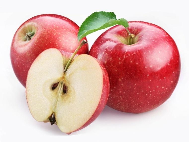 como sanar el higado-manzana