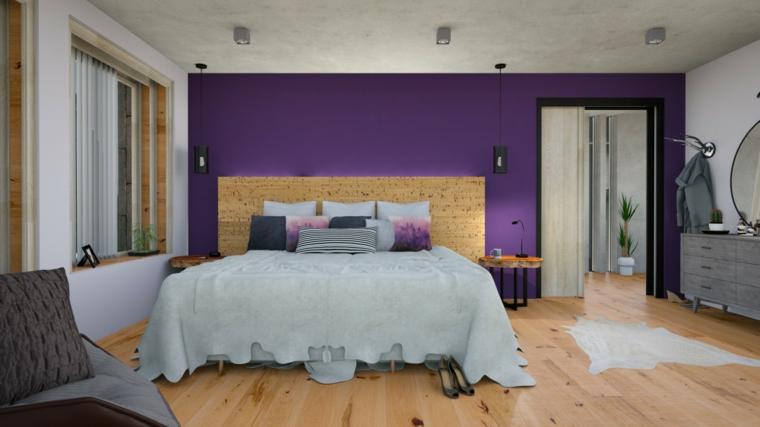 como se hace el color violeta-interior-casa