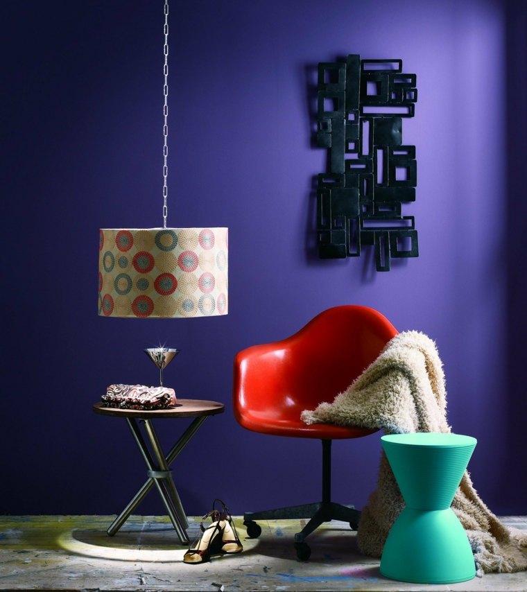como se hace el color violeta-interior