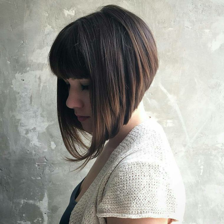 corte estilo bob pelo rizado-mujeres