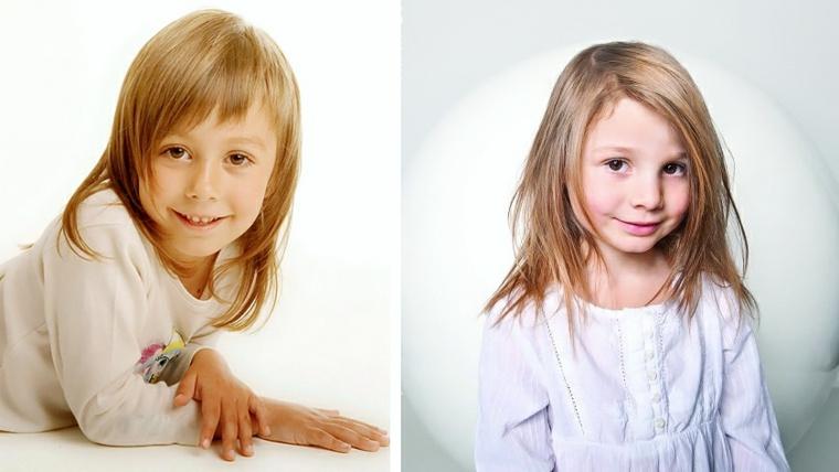 cortes de pelo de moda niñas