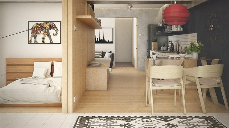 cuadros-coloridos-muebles-madera