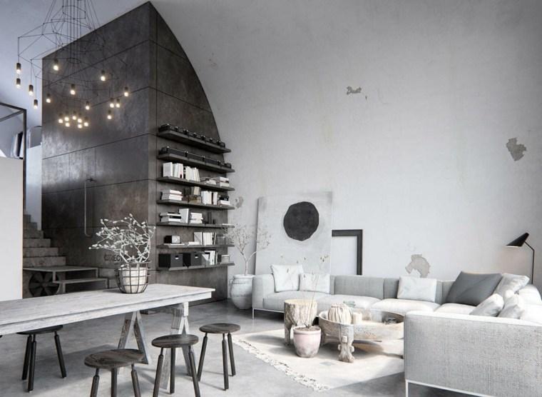 decoración de interiores loft