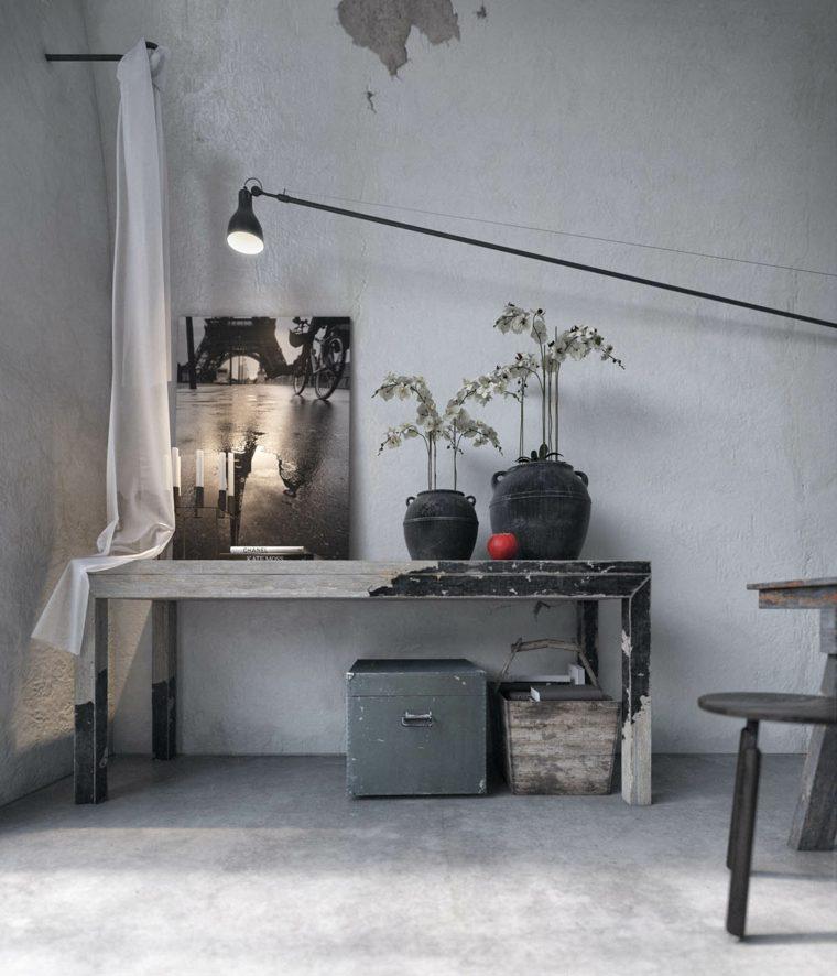 decoración-de interiores pared-industrial