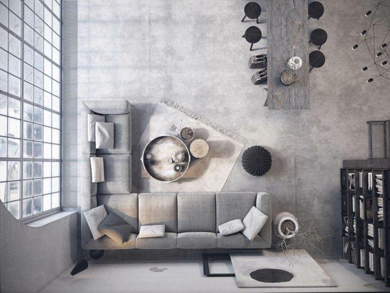 decoración de interiores sofa