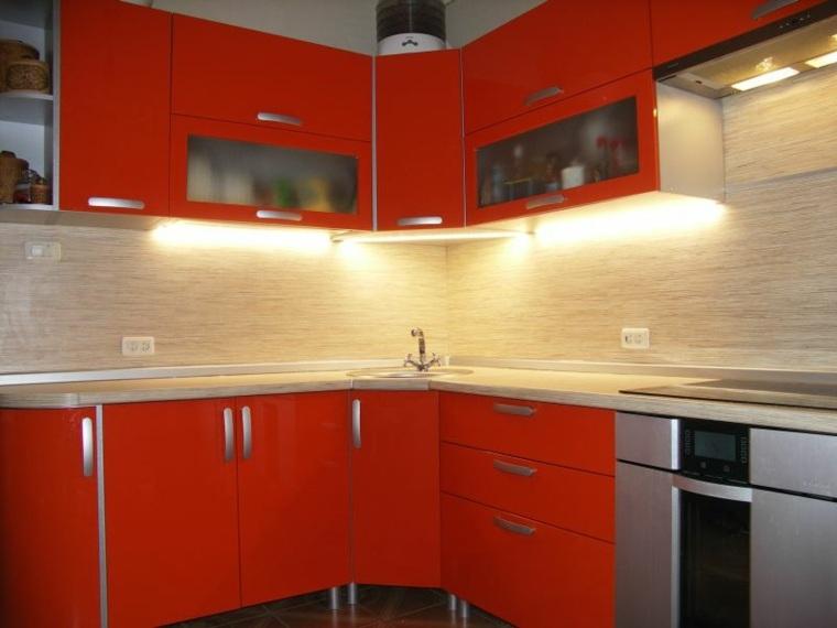 decoracion de cocinas-modernas-luces