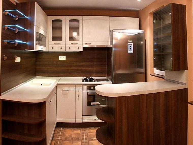decoracion de cocinas-salpicaderos-madera