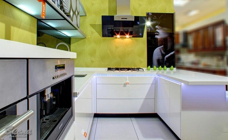 decoracion de cocinas-salpicaderos-verde