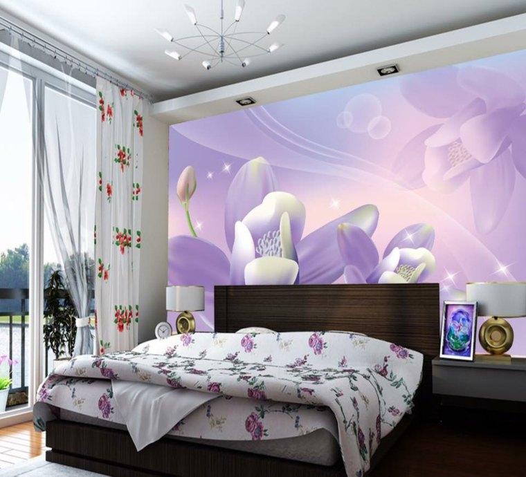 decoracion de cuartos-flores