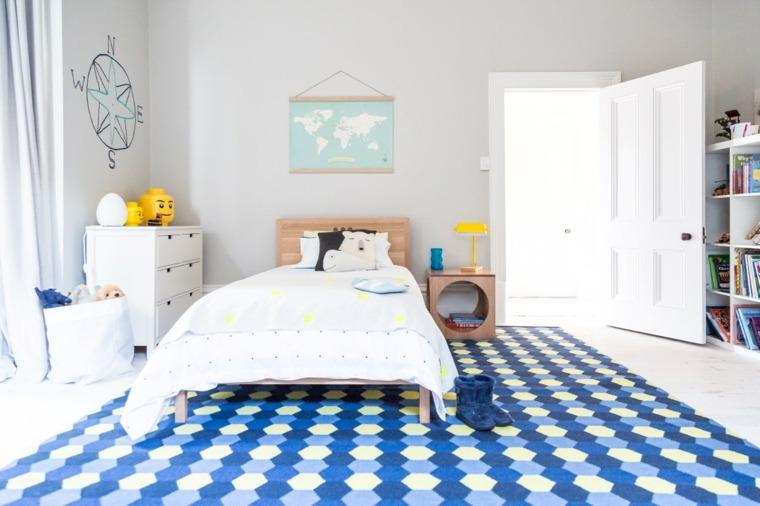 decoración de cuartos para niños cama-grande
