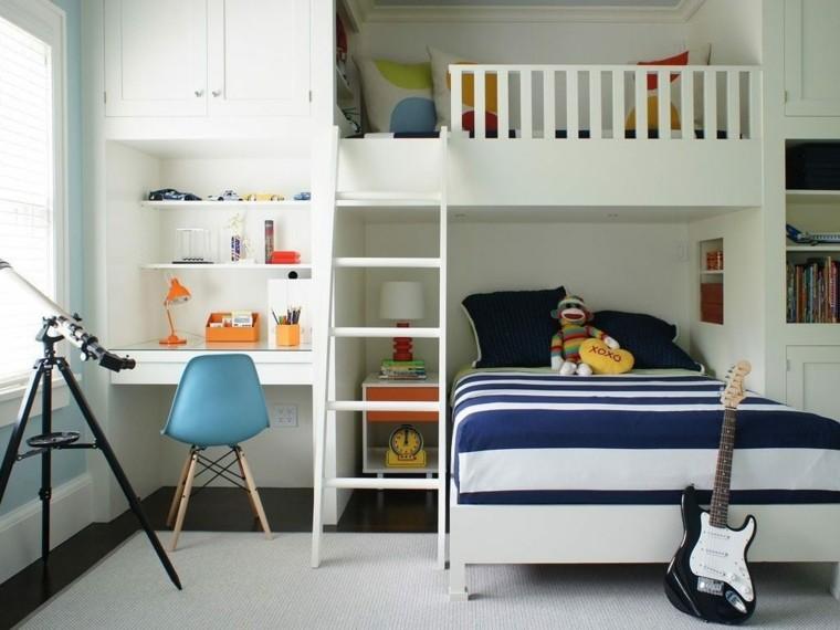 Decoración de cuartos para niños - Ideas para crear dormitorios ...