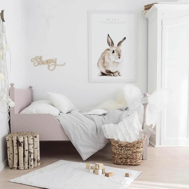 decoración de cuartos para niños-estilo-original