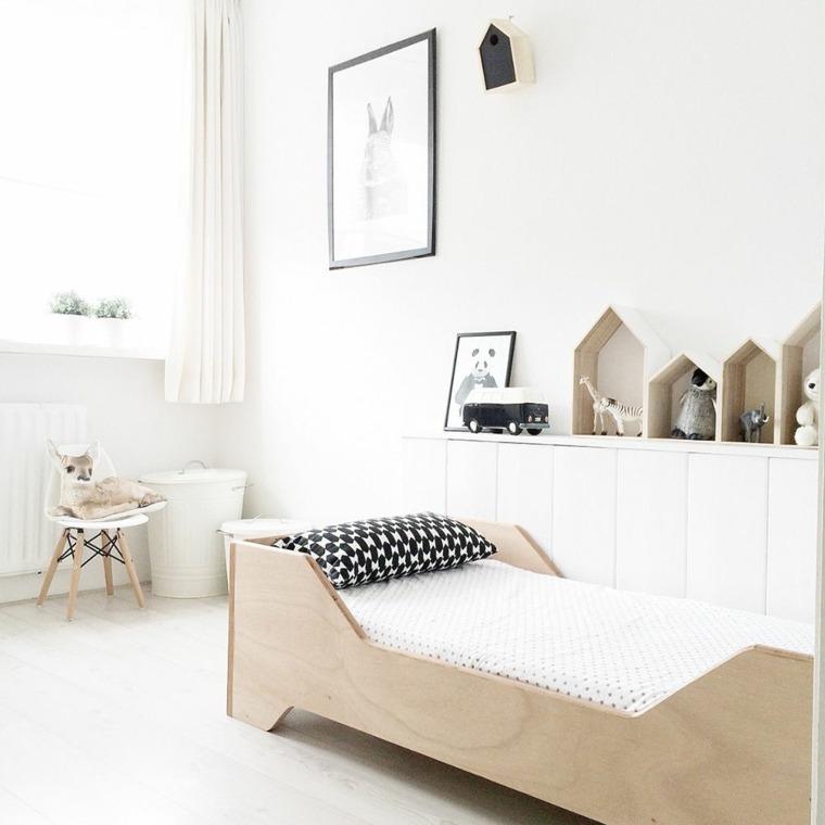 decoracion-de-cuartos-para-ninos-muebles-madera